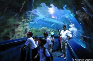 Aquaria KLCC indoor view