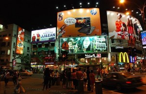 Bukit Bintang night life