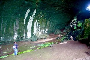 Gua Angin inside view
