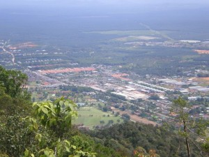 Gunung Lambak Recreational Forest summit view