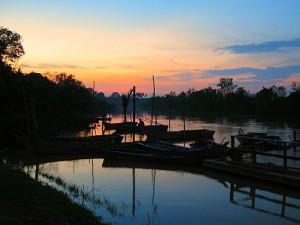 Kampung Kuantan Sunset