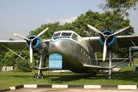 Royal Malaysian Air Force Museum plane display