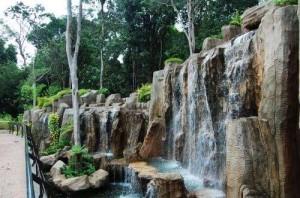 Melaka Botanical Garden Waterfall