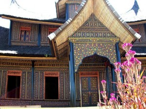Rumah Contoh Minangkabau Entrance