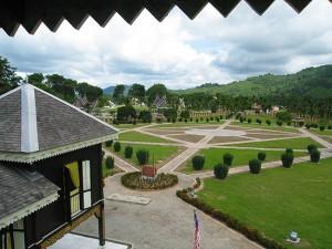 Seri Menanti Royal Museum garden