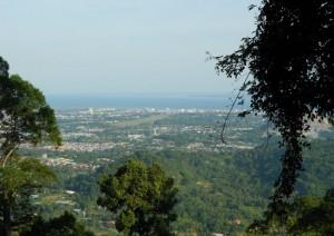 Bukit Gemok hill top view