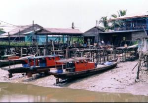 Pulau Ketam fisherman village