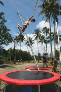 KK Adventure Park bungee jump