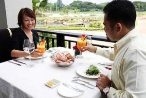 Kuala Lumpur Golf and Country Club dining