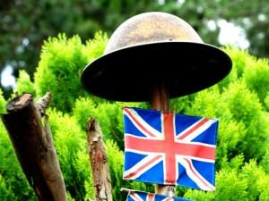 Kundasang War Memorial british garden