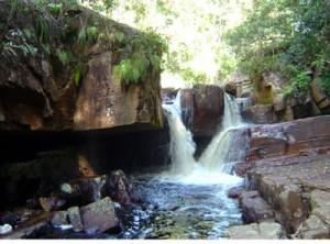 Maga Waterfall Long Pasia