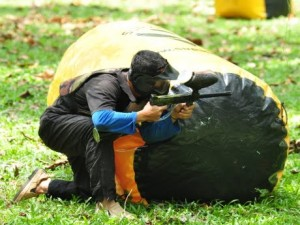 Outdoor Development Center paintball game