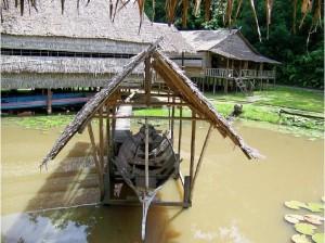 Sabah State Museum & Heritage Village boat display