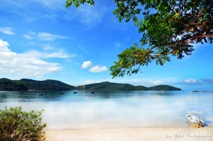 Usukan Cove beach