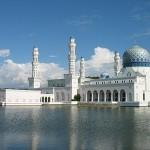 floating mosque kota kinabalu