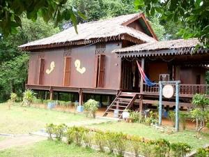 Johor Five Roofed House