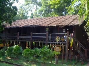 Kelantan Long Roofed House