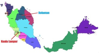 Kelantan Map