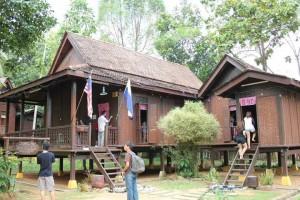 Melaka Long Roofed House