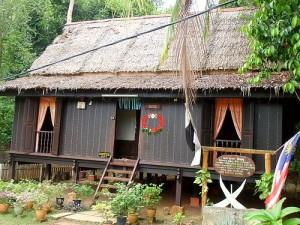 Pahang Long Roofed House