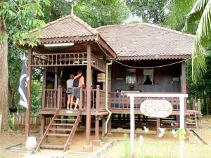Terengganu Five Roofed House