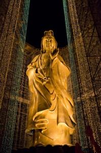 Kek Lok Si Temple kuan yin statue