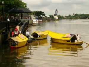 Kuching Waterfront boat ride
