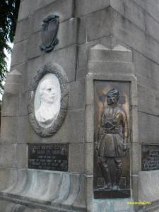 Sarawak Court House monument