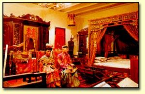 Baba and Nyonya Heritage Museum bridal display