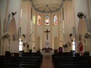Christ Church Melaka inside view