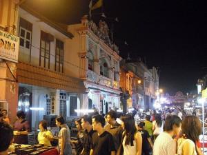 Jonker Street crowded scene