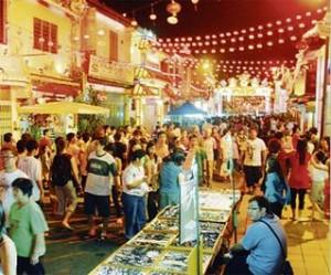 Jonker Street hawker stalls