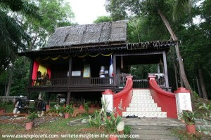 Taman Mini ASEAN rumah melaka