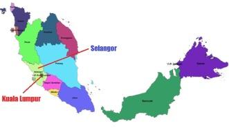 Selangor Map