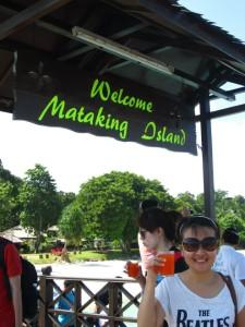 Arrival to Mataking island