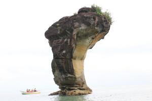 Bako rocks formation