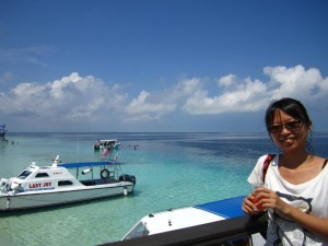 Guest photo shooting at Mataking Island
