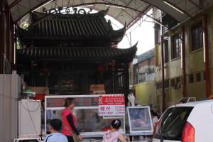 Hawker stalls