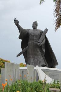 Malaysia-China Friendship Park cheng ho statue