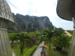 Paddy Museum overlooking Gunung Keriang