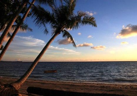 Pancur Hitam Beach in Labuan
