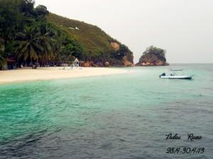 Pulau Rawa beach