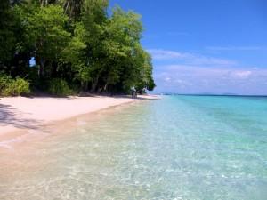Pulau Sibuan beach