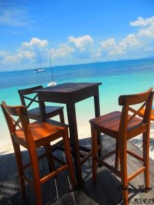 Rawa Island relaxing area