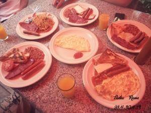 Rawa Island resort breakfast