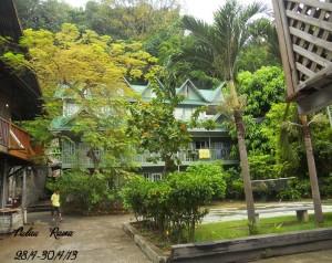 Rawa Island Resort restaurant
