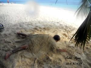Rawa Island turtle man