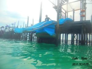 Rawa Island water chute