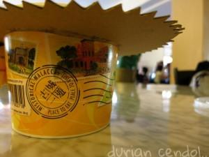 San Shu Gong durian cendol