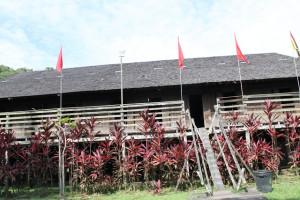 Sarawak Cultural Village Rumah Iban